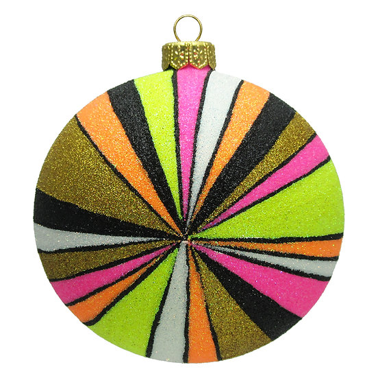 "#1603 - Thomas Glenn ""Prism"" Ball Ornament"