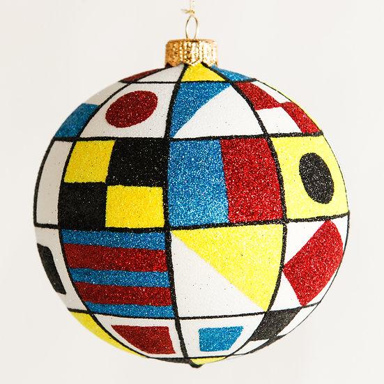 """#1812 - Thomas Glenn """"Nautica"""" Ball Ornament"""