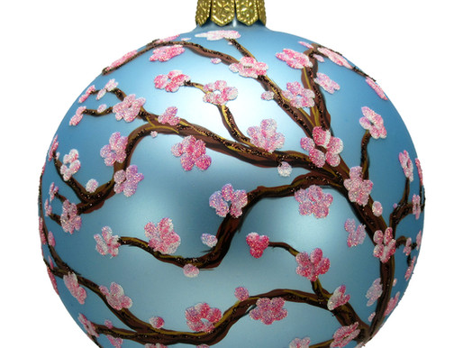 Think Spring!  Thomas Glenn Floral Ornaments
