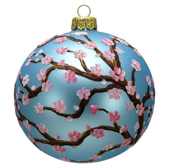 """#1643 - Thomas Glenn """"Plum Blossom Tree"""" Ornament"""