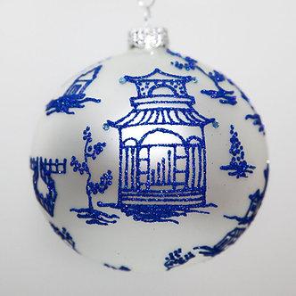 "#2071 - Thomas Glenn ""Kyoto"" Ball Christmas Ornament"