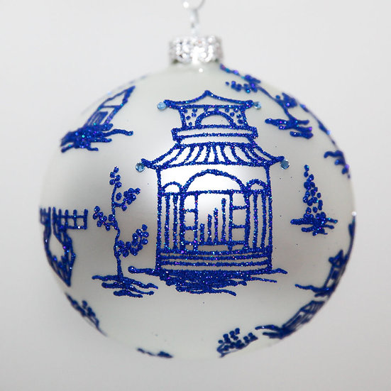 "#2071 - Thomas Glenn ""Kyoto"" Ball Christmas Ornament"
