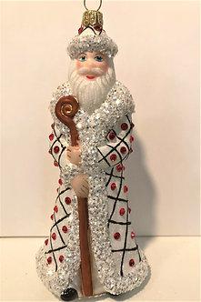 "#1748Santa - Thomas Glenn ""Santa - Freckles"" Molded Christmas Ornament"