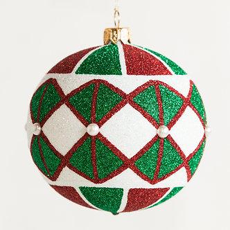 "#1849 - Thomas Glenn ""Main Street"" Ball Ornament"