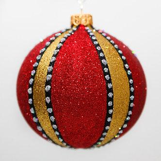 "#2064 - Thomas Glenn ""Windsor"" Ball Christmas Ornament"