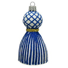 1656B/W - Tassel - Blue & White