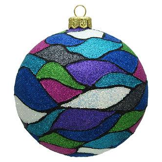 """#1605 - Thomas Glenn """"Tides"""" Ball Ornament"""