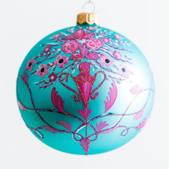 """#816 - Thomas Glenn """"La Te Da"""" Ball Ornament"""