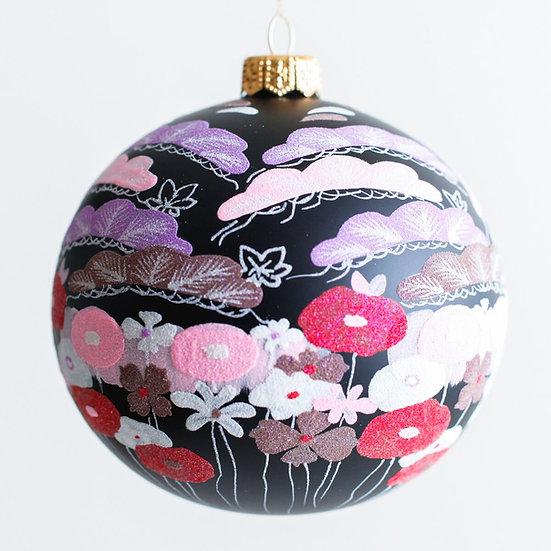 "#1968 - Thomas Glenn ""Teien - Garden"" Ball Ornament"