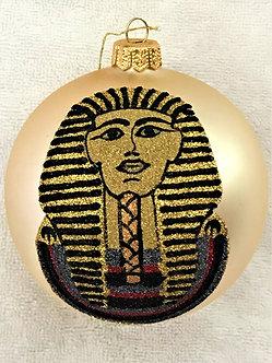 "#1953 - Thomas Glenn ""King Tut"" Ball Christmas Ornament"
