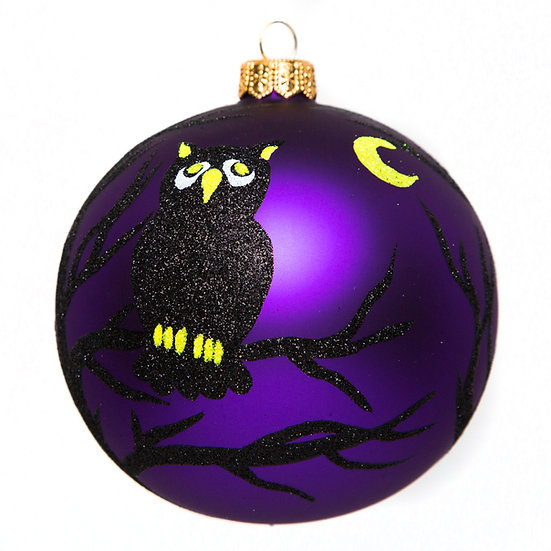 "#1778 - Thomas Glenn ""Hoot"" Halloween Ornament"
