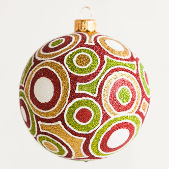 "#1823 - Thomas Glenn ""Hypnotized"" Ball Ornament"