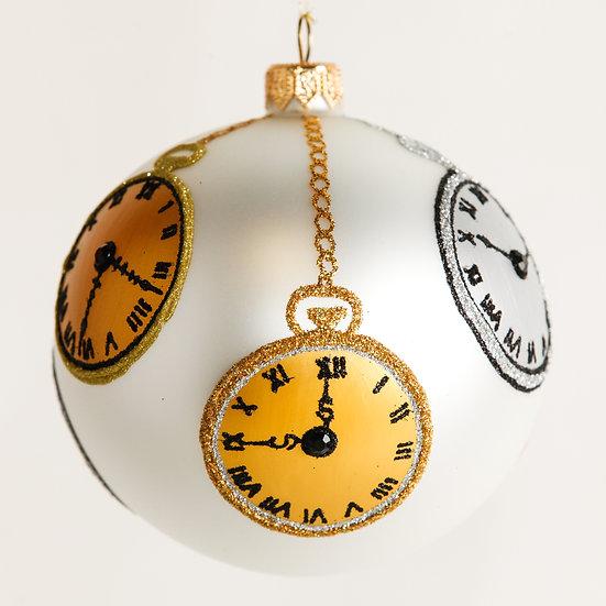 "#1845 - Thomas Glenn ""It's Christmas Time"" Ball Ornament"