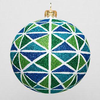 "#1754 - Thomas Glenn ""Lake"" Ball Ornament"