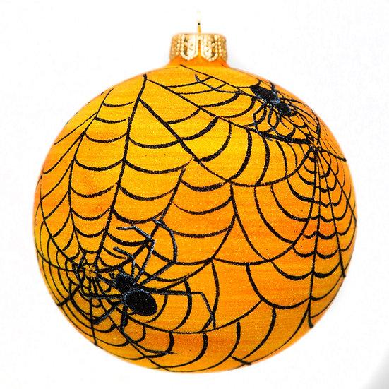 "#1780 - Thomas Glenn ""A Tangled Web"" Halloween Ornament"