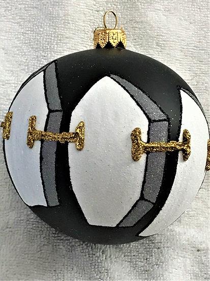 "#1814 - Thomas Glenn ""Tux"" Ball Christmas Ornament"