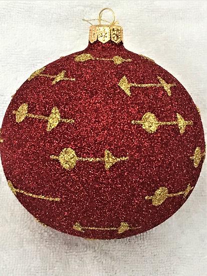 """#1921 - Thomas Glenn """"Mercury"""" Ball Christmas Ornament"""