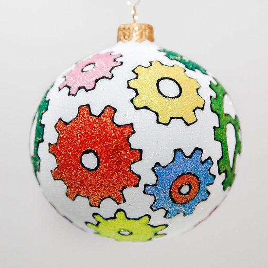"#2016 - Thomas Glenn ""Cognizant"" Ball Christmas Ornament"