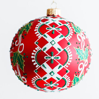 "#1944 - Thomas Glenn ""Nordic Ball"" - Ball Ornament"