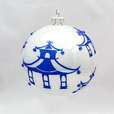 740B - Modern Pagoda - Blue