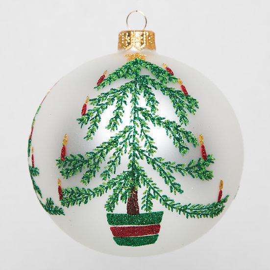 """#1758 - Thomas Glenn """"Christmas Tree"""" Ball Ornament"""
