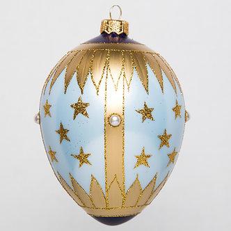 "#1768 - Thomas Glenn ""Twinkle, Twinkle"" Faberge Egg Ornament"