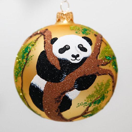 "#2061 - Thomas Glenn ""Panda"" Ball Christmas Ornament"