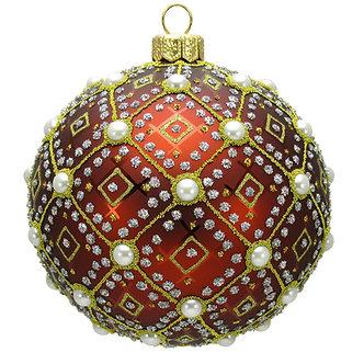 "#634BR - Thomas Glenn ""Brown Pearl"" Ornament"
