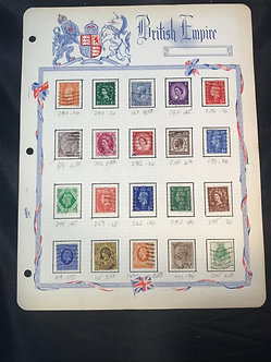 """Stamps """"Great Britain"""" Pre-1960 Collection"""
