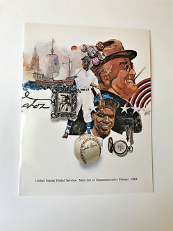 """Stamps """"USPS 1982 Commemorative Yearbook"""" Book & Mint Stamps"""