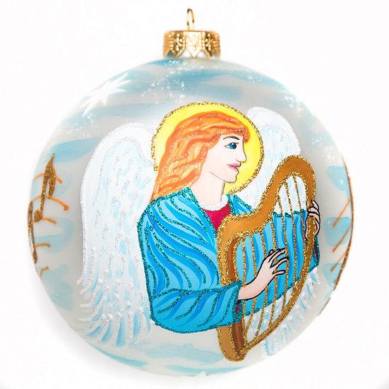 "#1760 - Thomas Glenn ""Archangels"" Ball Ornament"