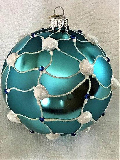 "#540 - Thomas Glenn ""Snow"" Ball Christmas Ornament"