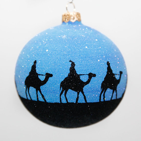 "#2013 - Thomas Glenn ""Oh Holy Night"" Ball Christmas Ornament"