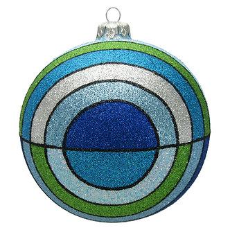 "#1412 - Thomas Glenn ""Baltic"" Ball Ornament"