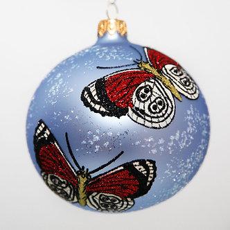 """#2050 - Thomas Glenn """"Gossamer"""" Ball Christmas Ornament"""