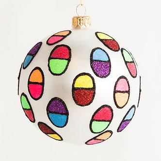 "#1804 - Thomas Glenn ""Encapsulated"" Ball Ornament"
