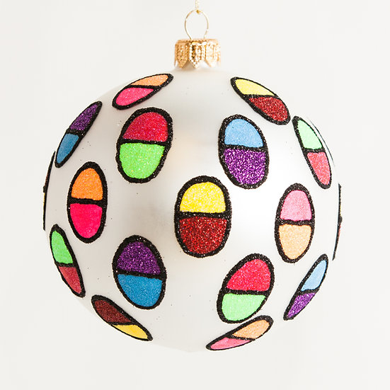 "#1804 - Thomas Glenn ""Encapsulated"" Ball Ornament"