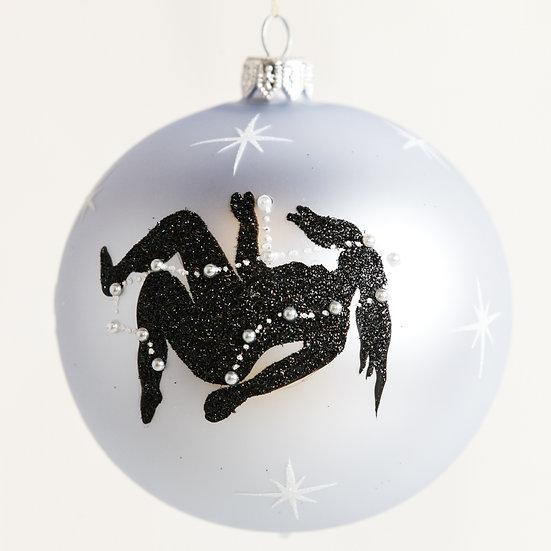 "#1859 - Thomas Glenn ""Virgo"" Zodiac Christmas Ball Ornament"