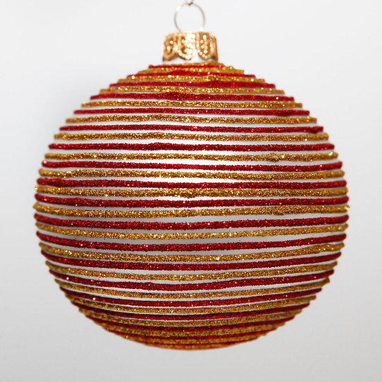"#2097 - Thomas Glenn ""Parfait"" Ball Christmas Ornament"