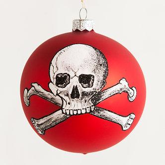 """#1889 - Thomas Glenn """"POISON"""" Halloween Ball Ornament"""