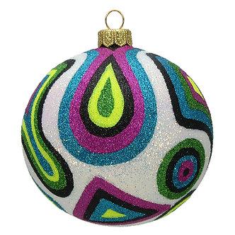 """#367Retro - Thomas Glenn """"Retro Camo Christmas"""" Ball Ornament"""