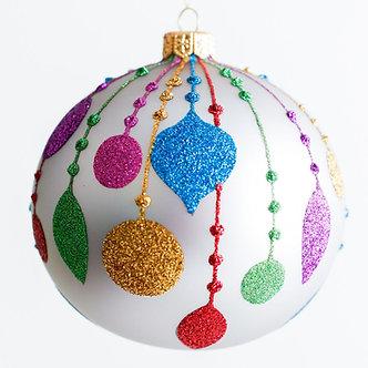 "#1923 - Thomas Glenn ""Christmas Memories"" Ball Ornament"