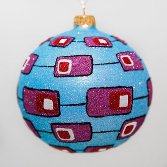 "#2006 - Thomas Glenn ""Screen Time"" Ball Christmas Ornament"