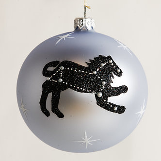 "#1852 - Thomas Glenn ""Leo"" Zodiac Christmas Ball Ornament"