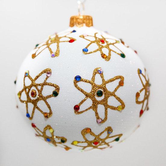 "#2045 - Thomas Glenn ""Atomic"" Ball Christmas Ornament"