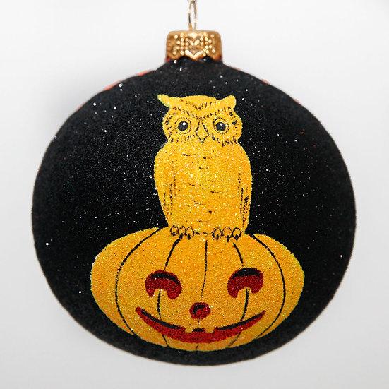 "#2094 - Thomas Glenn ""Potter's Pals"" Ball Halloween Ornament"