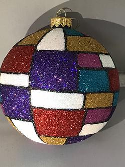 "Thomas Glenn ""Mondrian"" Ball Ornament"