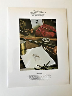 """Stamps """"USPS 1980 Commemorative Yearbook"""" Book & Mint Stamps"""