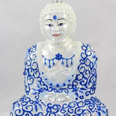 Buddha - Blue & White
