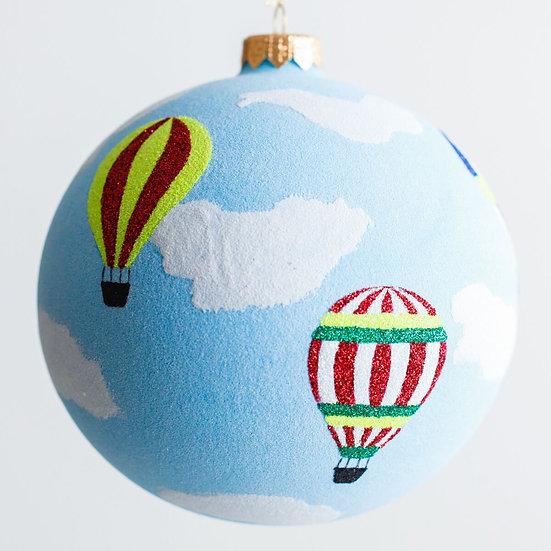 "#1913 - Thomas Glenn ""Up Up And Away"" Ball Ornament"